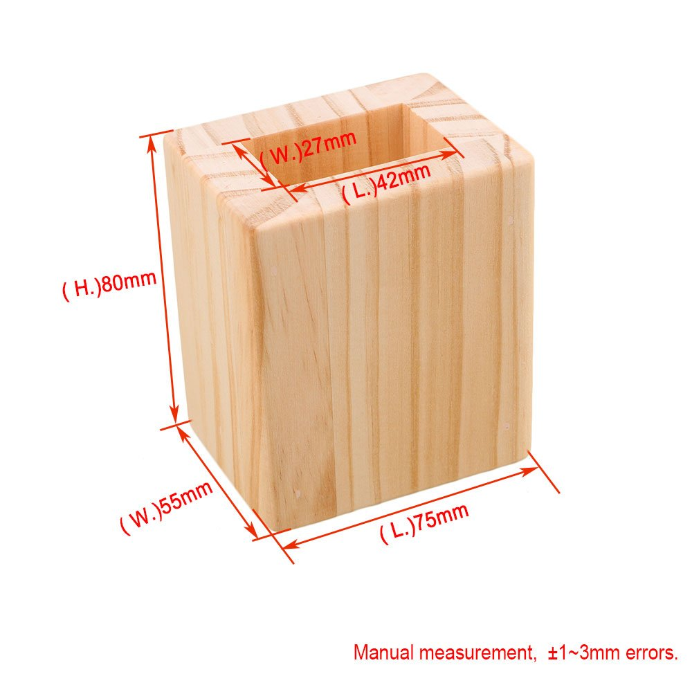M4170911030 BQLZR ferm/é Bois Table Desk rehausseurs de lit Lift /él/évateur de meuble de rangement