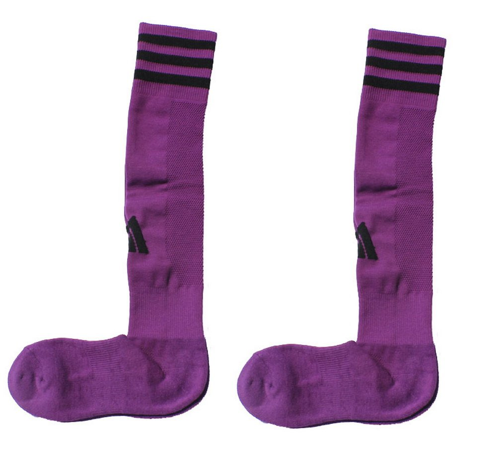 2 Packs Knee Length Football Socks Purple Long Socks PANDA SUPERSTORE PS-SPO2420111011-EMILY00199