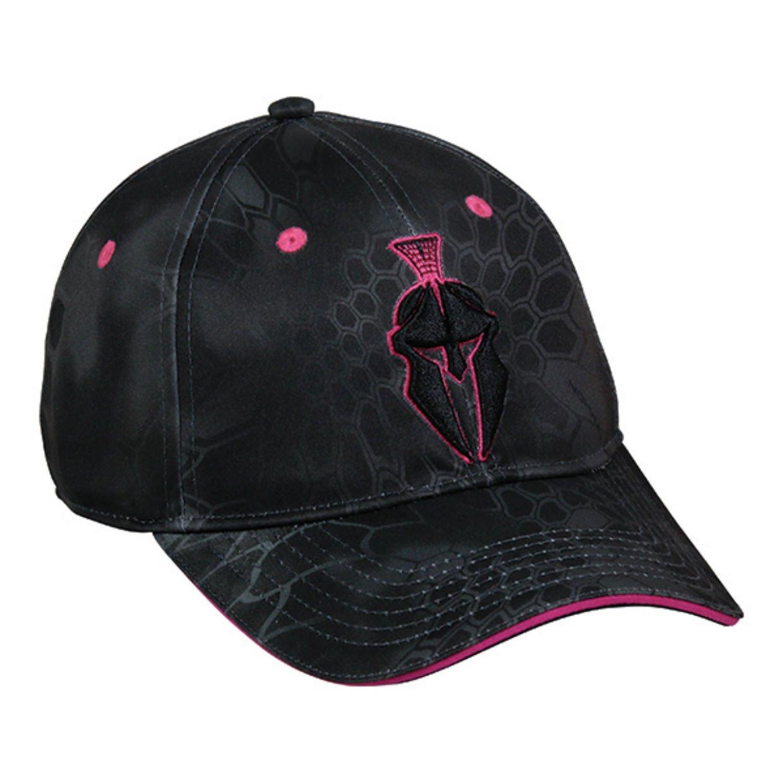 Kryptek Ladies Performance Typhon Pink Helmet Logo Camo Cap Outdoor Cap