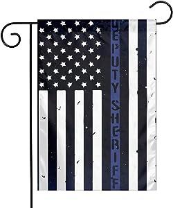 Deputy Sheriff US Flag Garden Yard Flag 12