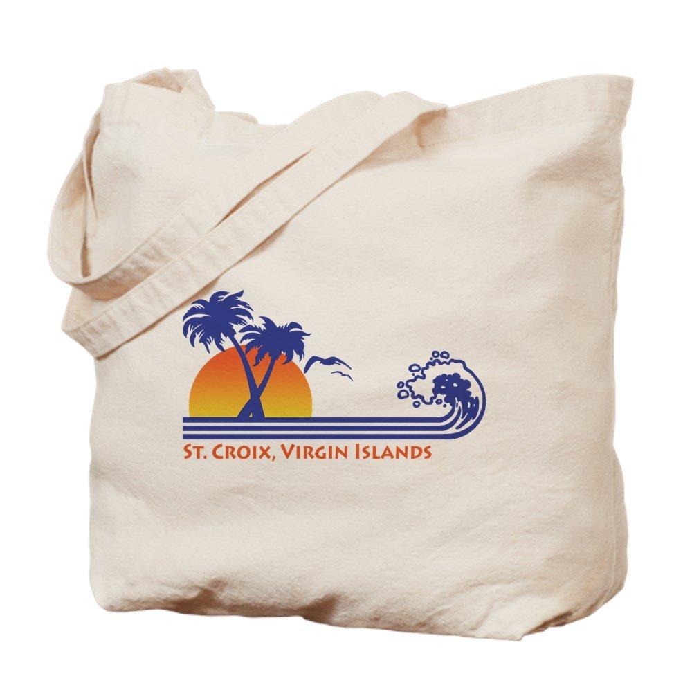 CafePress – St Croix – ナチュラルキャンバストートバッグ、布ショッピングバッグ B01JNFELWU