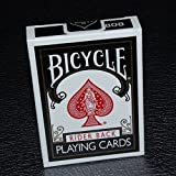 Bicycle 1 Deck Black Rider Back Playing Cards (BLACK) Standard Edition Deck