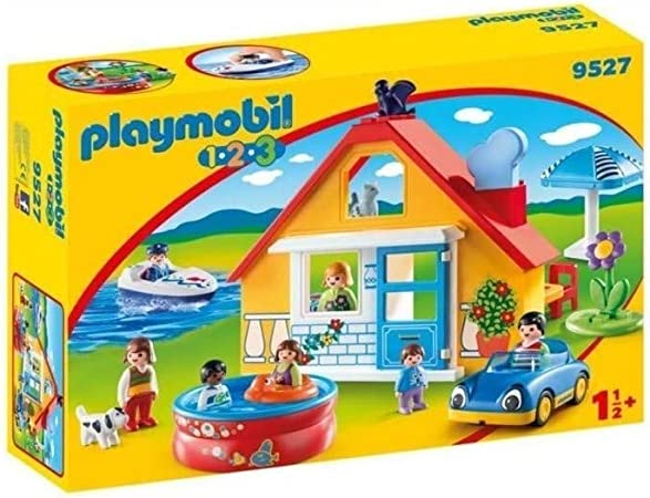 Playmobil Holiday Home, 10, Coloured