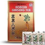 korean red ginseng tea - Original Korean Ginseng Tea(instant) 0.1oz(3g) 100 Packets with Korean Red Ginseng Tea 0.1oz(3g) 3 Packets