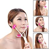 Face Up Roller Massager Facial Neck Slimmer Remove Chin Neck 2 in 1 Beauty Tools Anti Aging Skin Care Product for Women