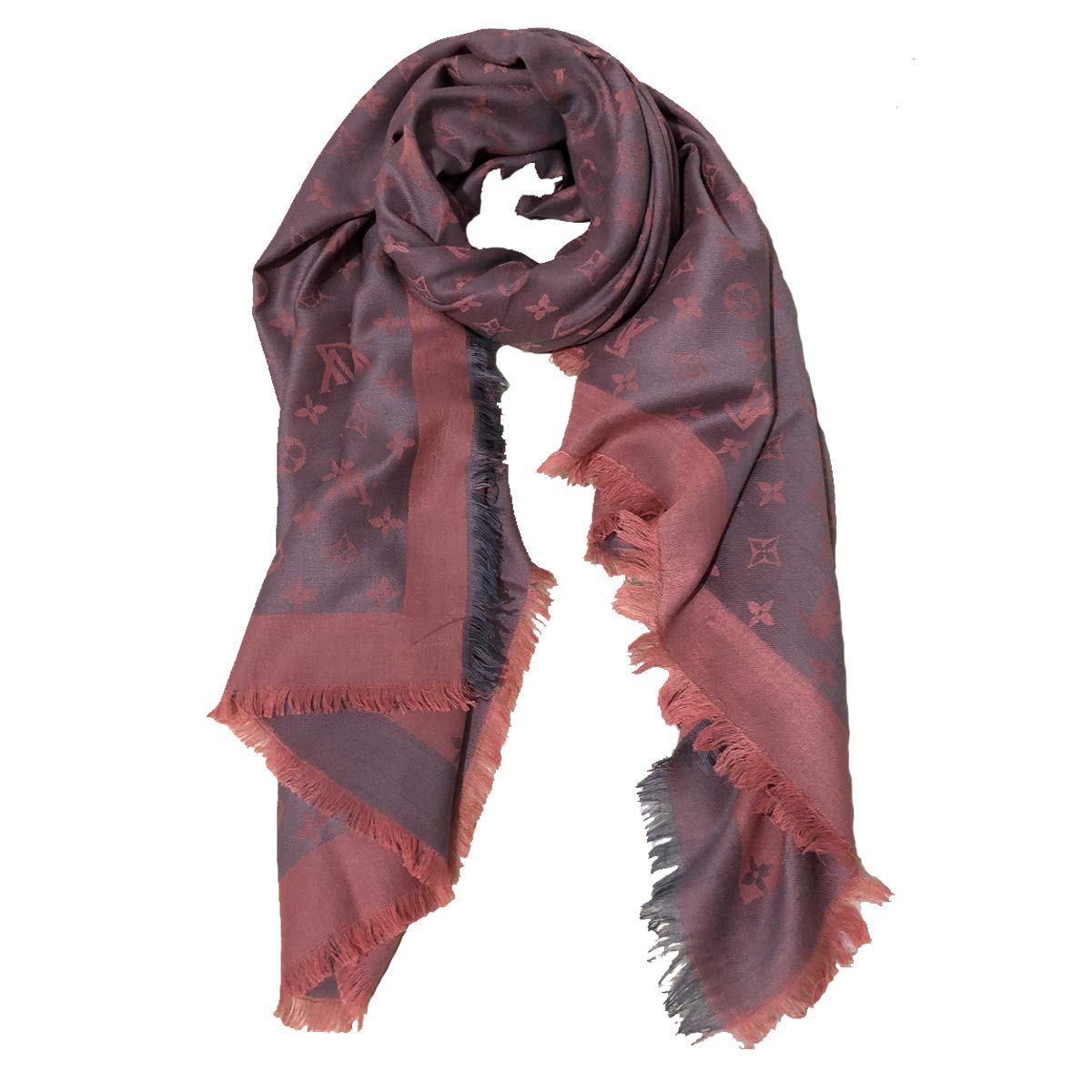 EHOO Fall Winter Cashmere Scarf Warm Scarves Fashion Luxury for Women