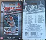2017 Topps ST. LOUIS CARDINALS Factory Sealed Team 17 Card Set Stephen Piscotty Dexter Fowler Aledmys Diaz Kolten Wong Yadier Molina