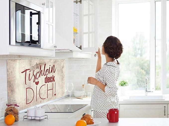 60x40cm Wandpaneele Kuche Braunes Motiv Grazdesign Spritzschutz Kuche Glas Tischlein Deck Dich Kuchenruckwand Glas Holzoptik Zubehor Elektro Grossgerate