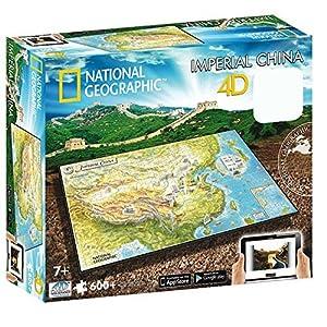 4d Cityscape Inc 4d National Geographic Ancient China Puzzle Puzzle By 4d Cityscape