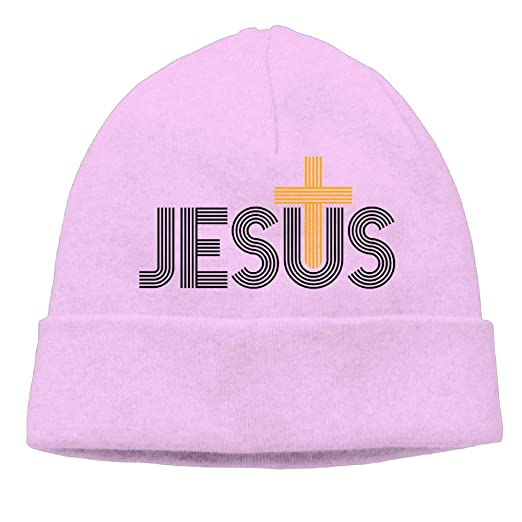 ca6fbded184 Image Unavailable. Image not available for. Color  Beanies Knit Hats Skull  Cap Jesus Christian ...