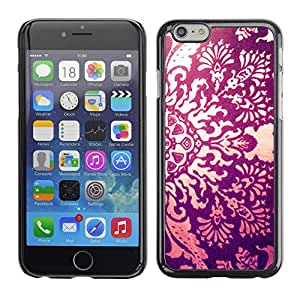 Plastic Shell Protective Case Cover    Apple iPhone 6 Plus 5.5    Fire Floral Awe Inspiring Engraving @XPTECH