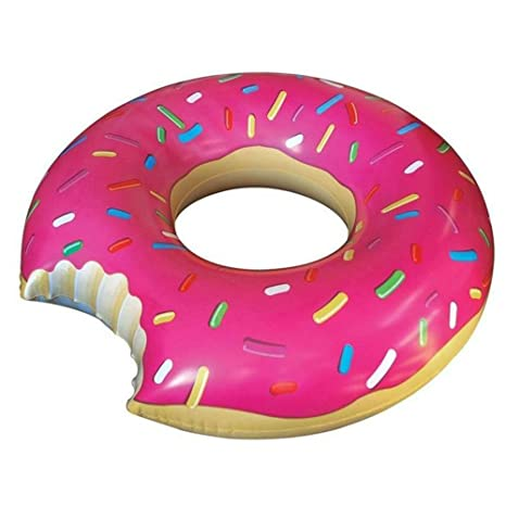 MENGCORE® - Gigantesco flotador en forma de rosquilla para piscina, juguetes flotadores para piscinas