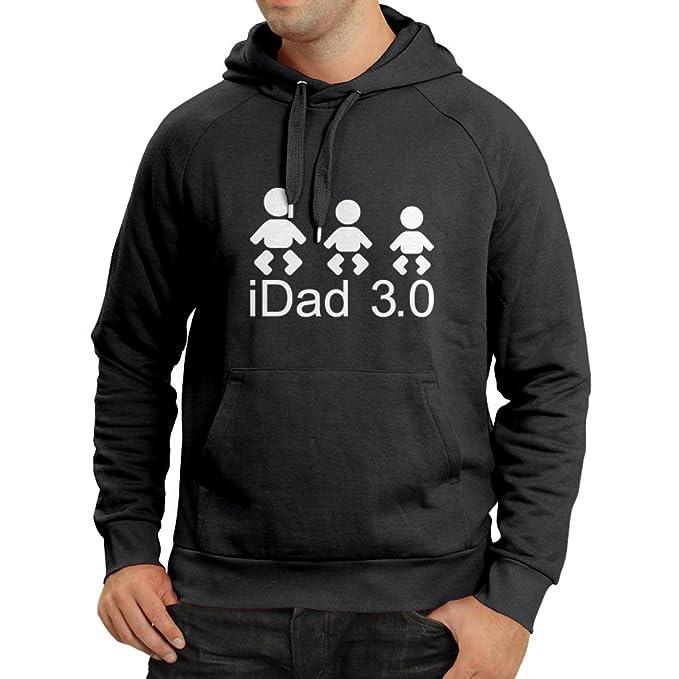 Sudadera con capucha IDad 3 mejores regalos de papá él regalos del día de padre: Amazon.es: Ropa y accesorios