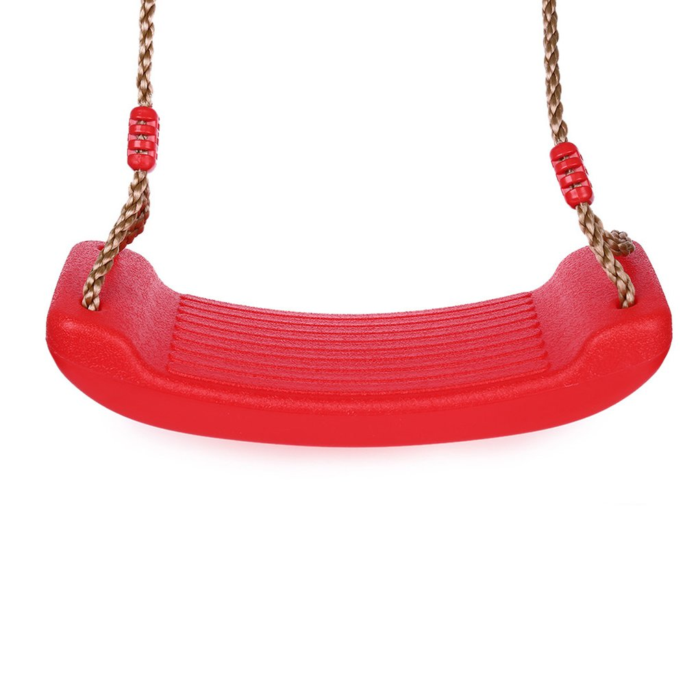 KitsPro Swing Seat, Candy Color & Integral Forming Swing Seat For Playground Swing Set Accessories Replacement for adults&kids(Red)