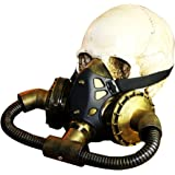 LUOEM Halloween Masquerade Steampunk Gas Máscara Decoración Festival Party Supplies Cosplay Props