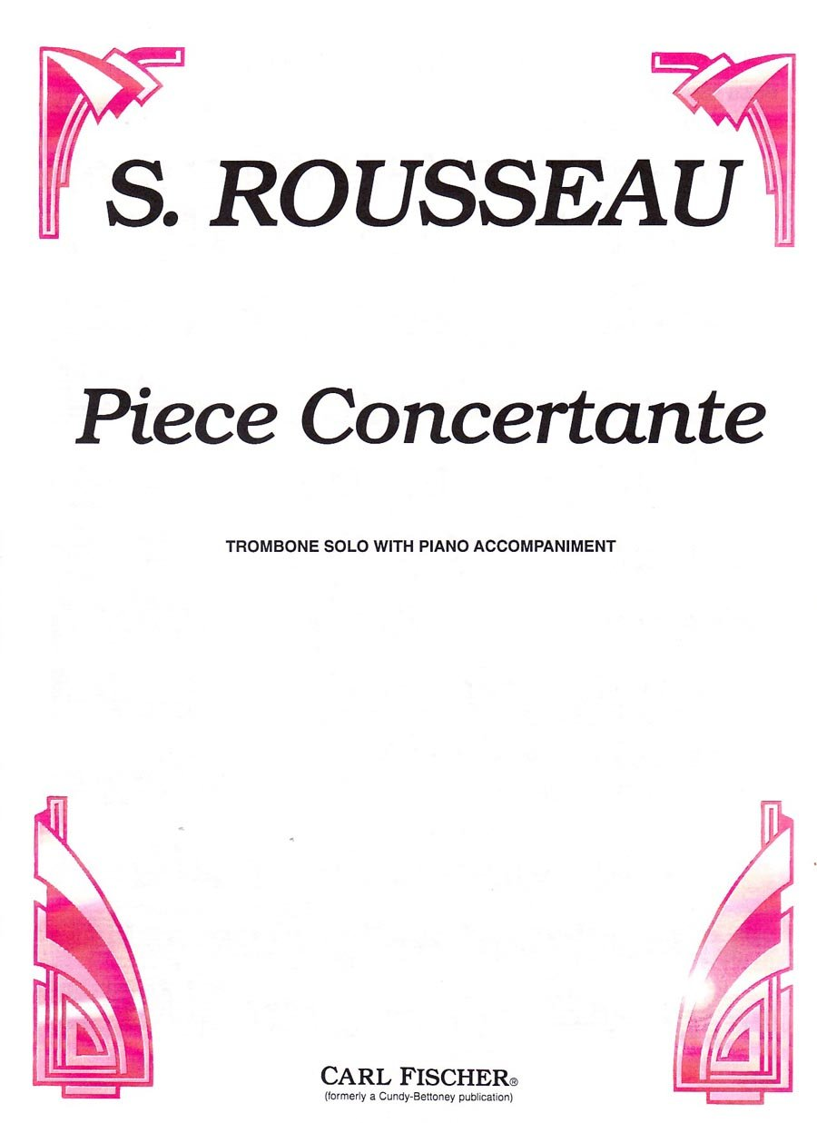 Piece Concertante (Trombone Solo with Piano Accompaniment)