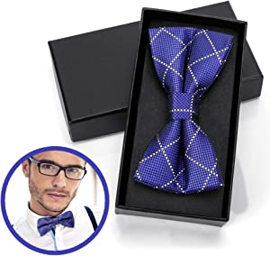 Giveaway: Ofone Classic Pre-Tied Bow Tie Formal Solid Tuxedo for Men…