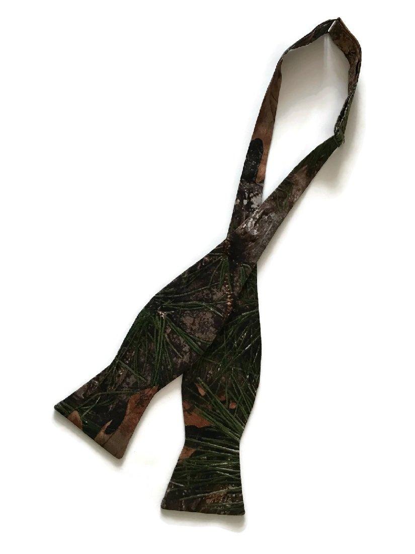 Holiday Bow Ties Boys Self-tie Camouflage Timber Pine Handmade Bow Tie, Boy's (boys)