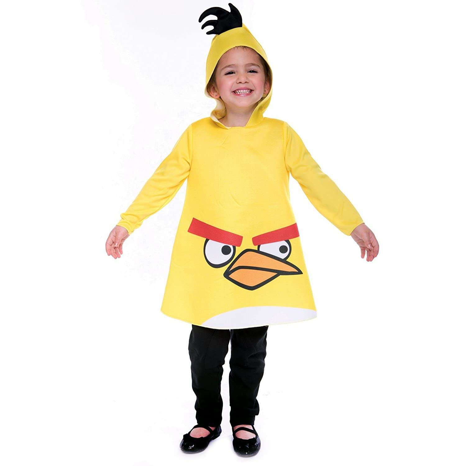 sc 1 st  Amazon.com & Amazon.com: PMG Angry Birds Yellow Bird Toddler Costume (2T)-: Clothing