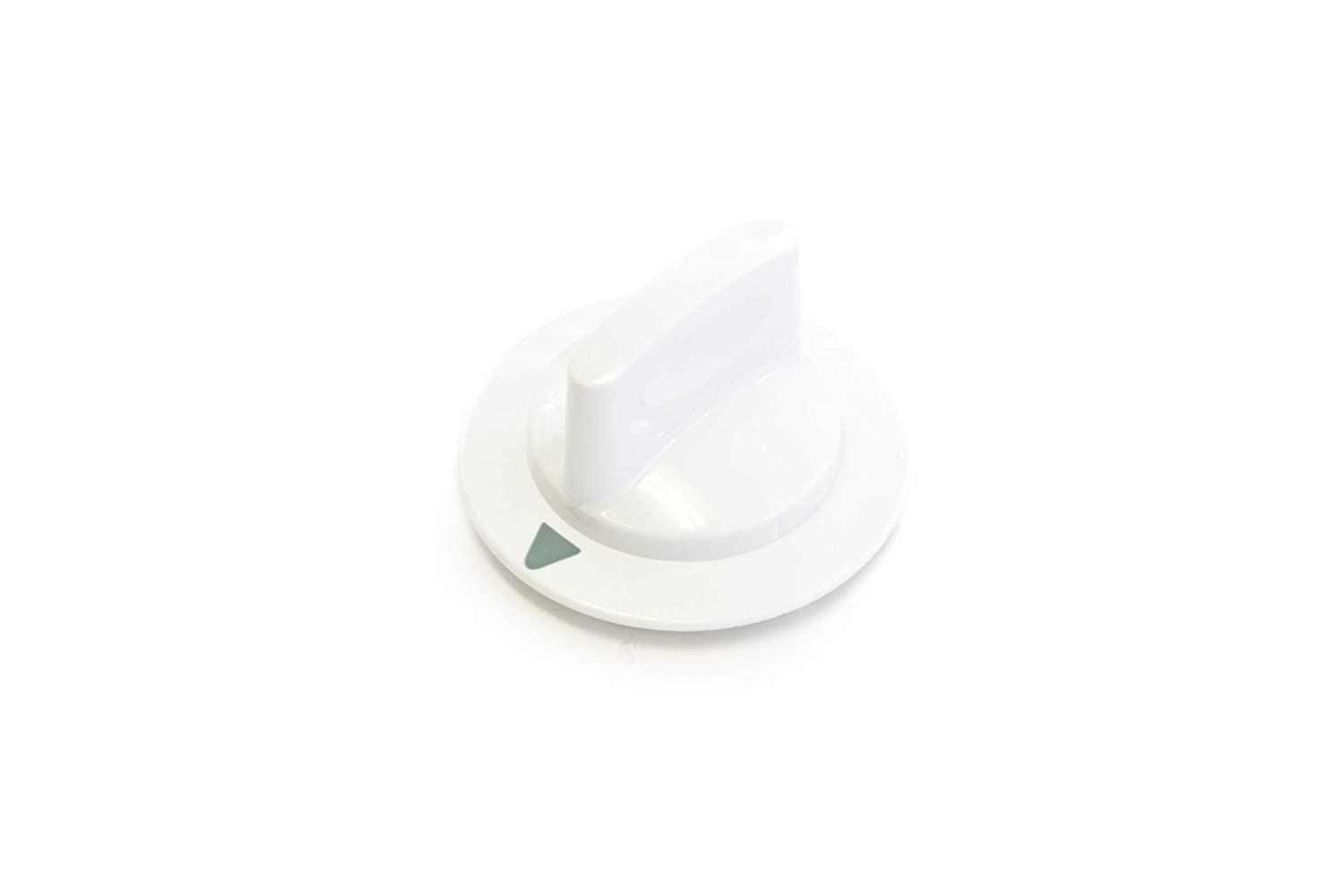 Red Hound Auto 1 White Dryer Timer Control Knob Replacement Compatible with General Electric Hotpoint RCA WE1M652