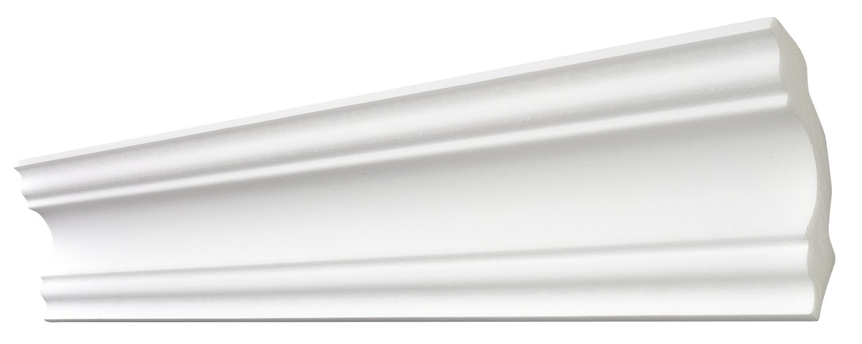 Decosa Moulure A80 (Stephanie), 80 x 80 mm longueur 2 m - PRIX SPECIAL LOT de 5 piè ces 80 x 80 mm longueur 2 m - PRIX SPECIAL LOT de 5 pièces Saarpor