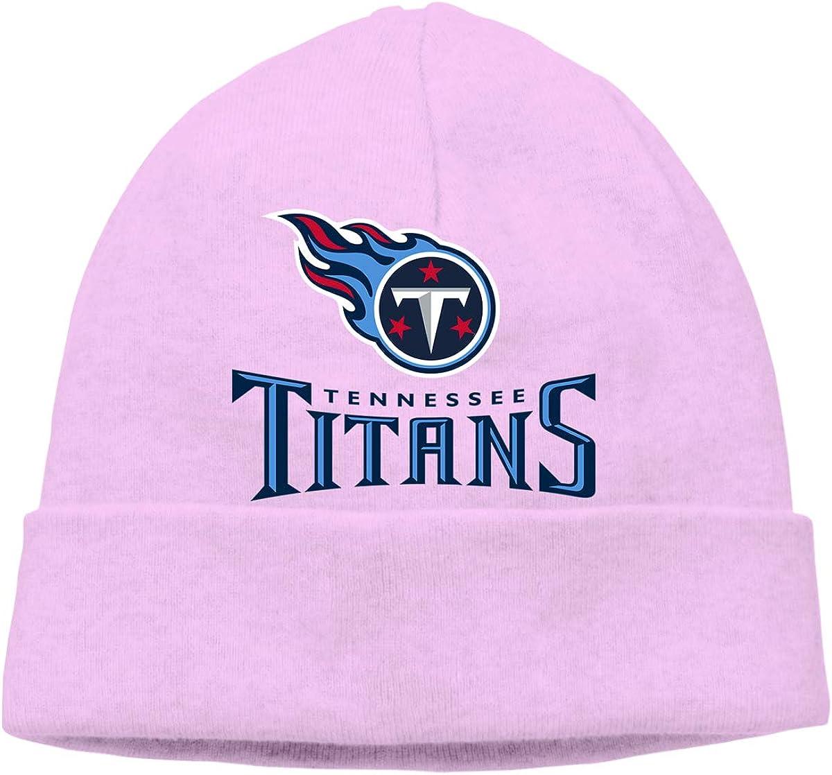 Tennessee Titans Unisex Fashion Autumn//Winter Knit Cap Hedging Cap Woolen Hat Cotton Cap