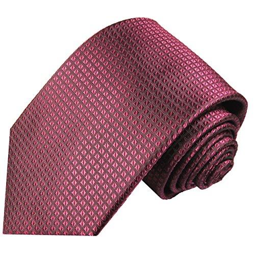 Paul silk waffle 100 tie pattern Malone necktie raspberry 4rtqnZxf4w