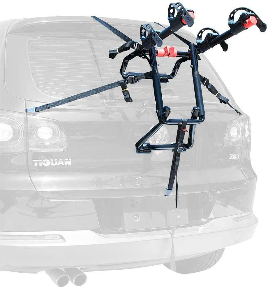 5. Premier Trunk Mounted Bike Rack by Allen Sports