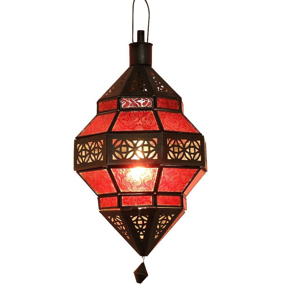 Albena Marokko Marokko Marokko Galerie 13-131 Trob orientalische Lampe Glas Metall (bunt) 4fd0a3