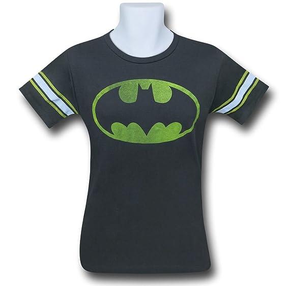 Amazon Batman Symbol Black Wash Mens Athletic T Shirt Clothing