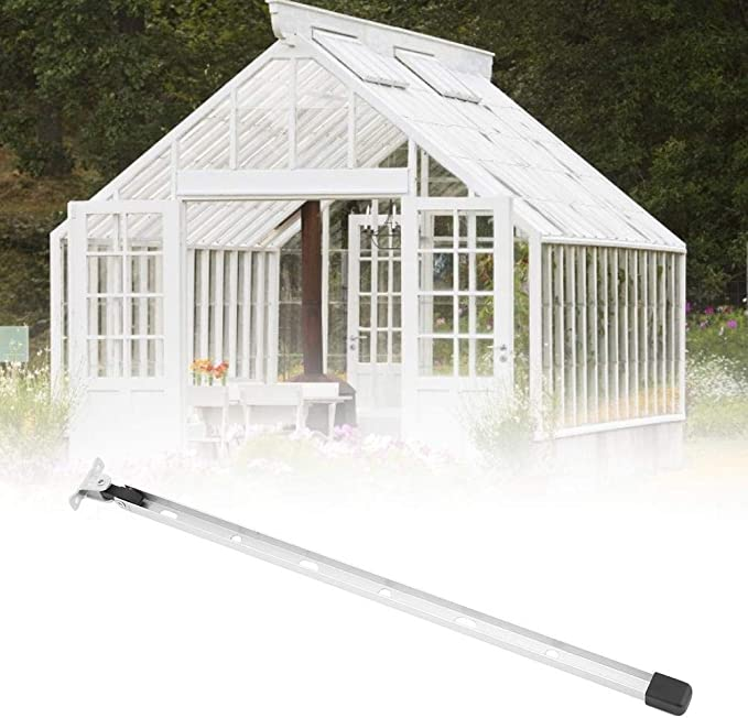 TOPINCN Greenhouse Window Support Manual Aluminum Alloy Greenhouse Window Stay Kit Roof Vent Opening Lever