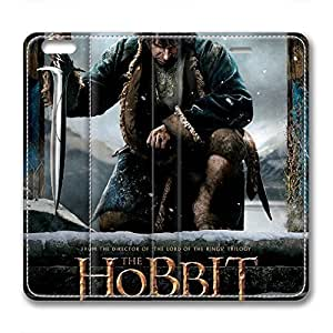 iCustomonline Leather Case for iPhone 6 Plus, The Hobbit Stylish Durable Leather Case for iPhone 6 Plus