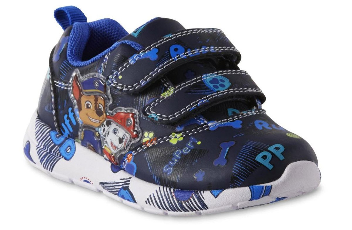 Paw Patroll Nickelodeon Toddler Boys Blue Light Up Athletic Shoes, 11 Toddler by Paw Patroll