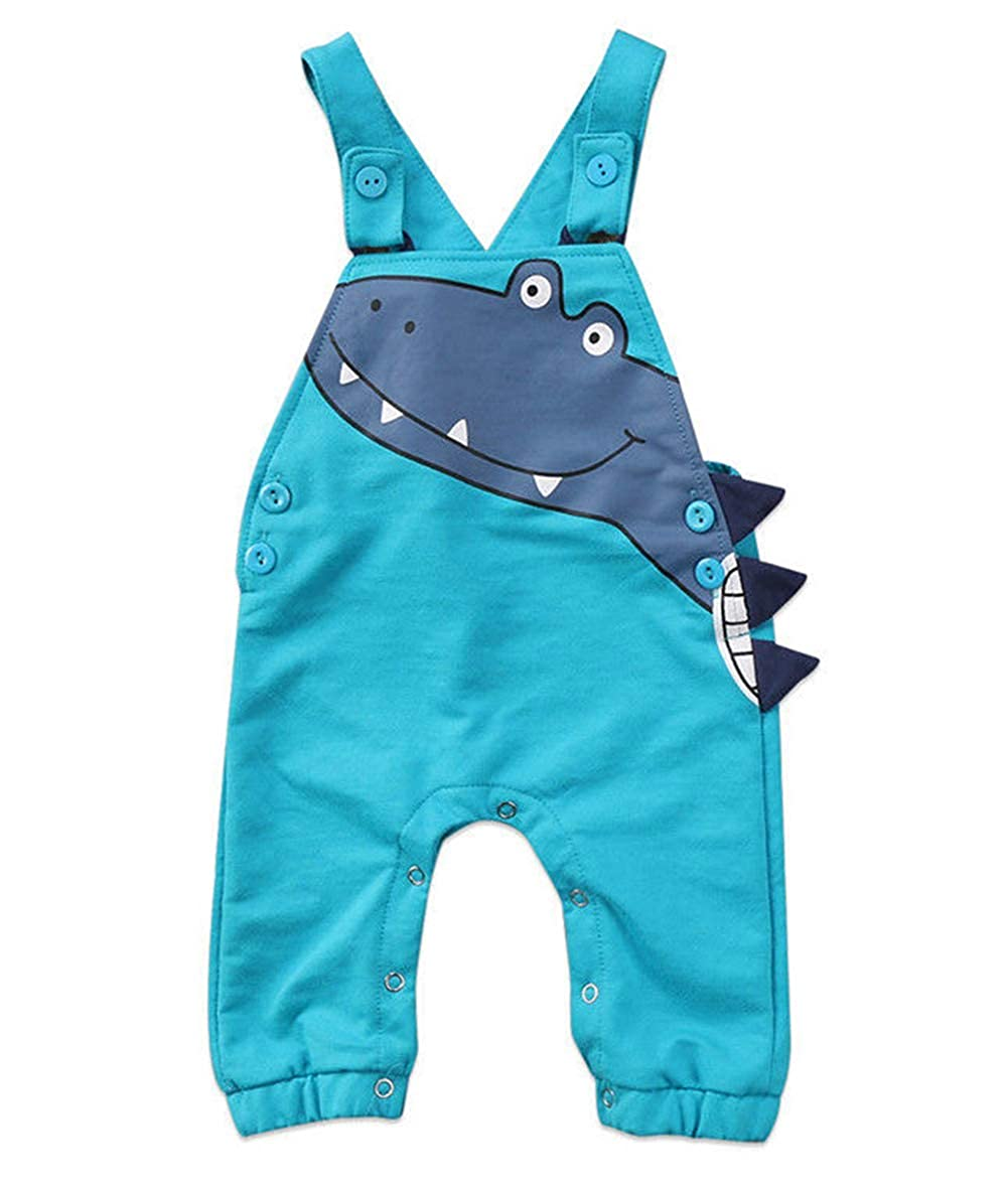 16b845b7b Vawal Toddler Baby Boys Girls Jumpsuits Unisex Cute Cartoon Overall ...