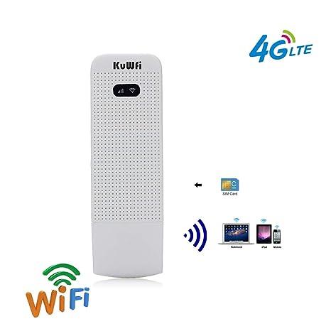 KuWFi - Enrutador WiFi Desbloqueado con Ranura para Tarjeta ...