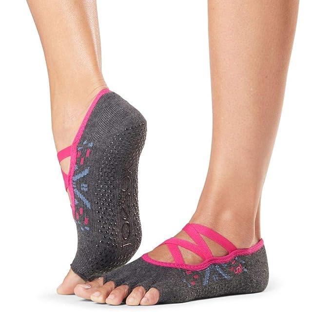 Amazon.com: ToeSox - Calcetines antideslizantes para pilates ...
