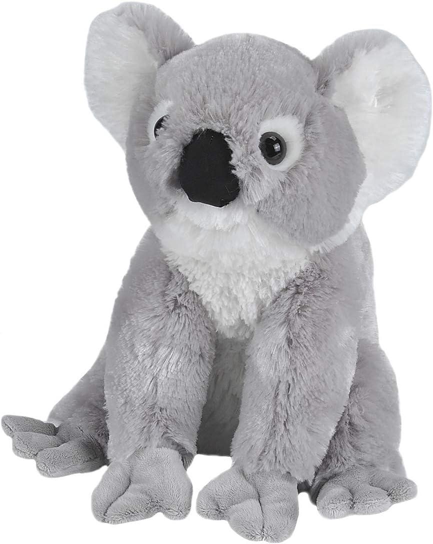 Wild Republic-10908 Peluche Koala Cuddlekins, Color Negro/Gris/Blanco (10908)