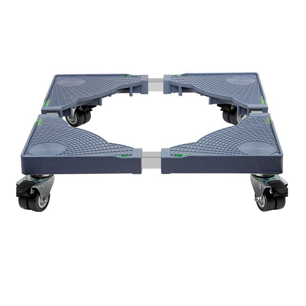 SUBBYE Base lavatrice Carrello Per Rulli Universali Per Lavatrice Con Freno Regolabile ( Colore : Eight wheel brakes )