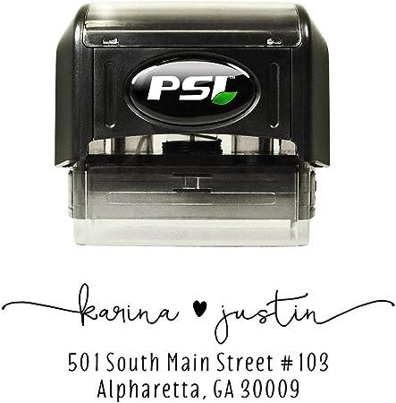 Custom address stamp Wedding return address stamp Floral address stamp Pretty address stamp. Return Address Stamp