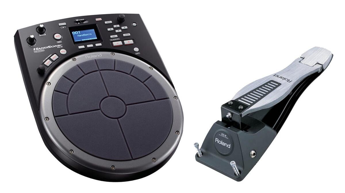 Roland HandSonic HPD-20 Electronic Percussion Controller and FD-8 Hi-Hat Control Pedal Bundle