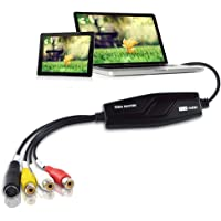 DIGITNOW! Video Grabber Capture Card, Hi8 VCR VHS to Digital DVD Converter,Convert Scart/Composite Video to USB for Mac Windows 10,8,7,XP