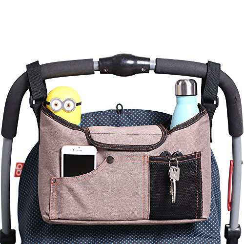 Buy Discount AMZNEVO Best Universal Baby Jogger Stroller Organizer Bag / Diaper Bag with Shoulder St...
