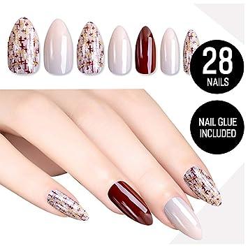 Nude women nice nails — 11