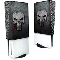 Capa Anti Poeira PS5 Vertical - The Punisher Justiceiro