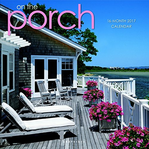 "Graphique 2017 on the Porch 12"" x 12"", Wall Calendar (CY24517)"
