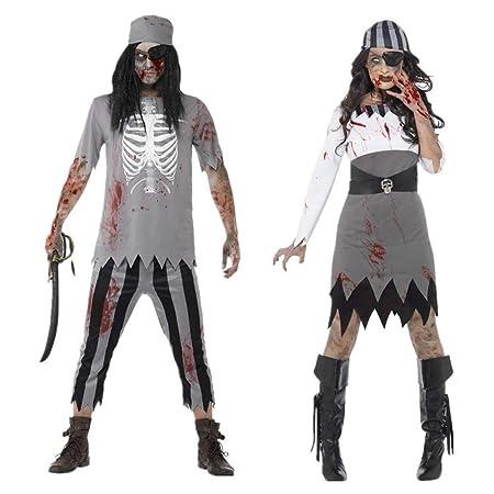 J-COSTUME Disfraz De Halloween Cosplay Adulto Terror Pareja Caribe ...