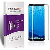 Verre Trempé Galaxy S8, Galaxy S8 Protection d' Écran, ,Anti-Scratch Protection d'écran pour Samsung Galaxy S8