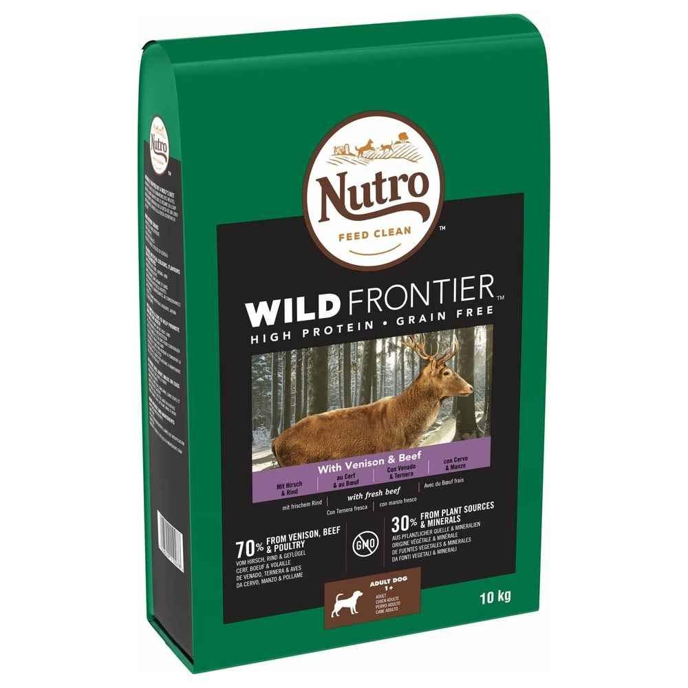 Nutro Wild Frontier Adulto Venado y Ternera 10 KG: Amazon.es ...
