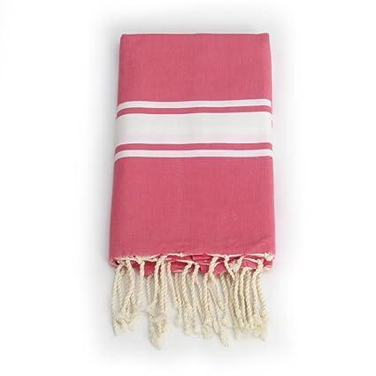 FOUTA TOALLA de alta calidad Toalla de playa Pareo toalla de baño hammam toalla Frambuesa entrega