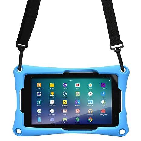 custodia tracolla tablet huawei